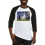 Starry Night / Ital Greyhound Baseball Jersey