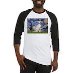 Starry Night / Ital Greyhound Baseball Jersey
