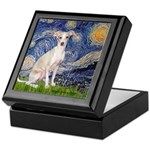 Starry Night / Ital Greyhound Keepsake Box
