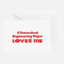 A Biomedical Engineering Major Loves Me Greeting C