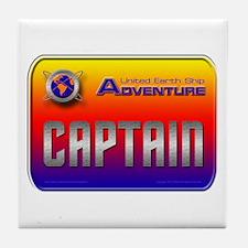 Captain Kids Tile Coaster