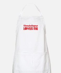 A Biomedical Engineer Loves Me BBQ Apron