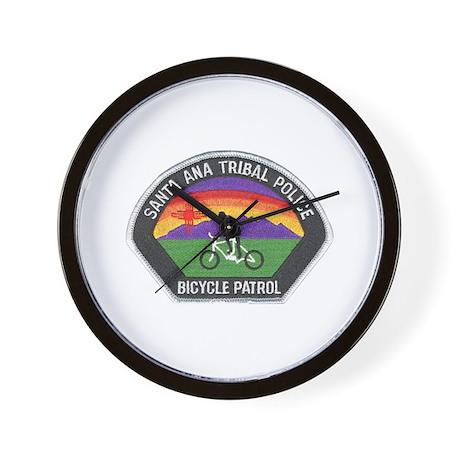 Santa Ana Tribal Bike Patrol Wall Clock