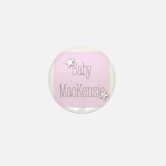 Cute Mackenzie Mini Button