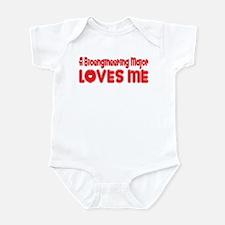 A Bioengineering Major Loves Me Infant Bodysuit