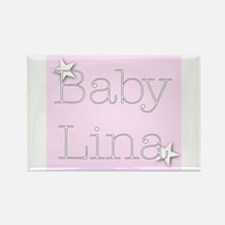 Cute Lina Rectangle Magnet