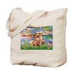 Lilies / Chihuahua (lh) Tote Bag