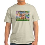 Lilies / Chihuahua (lh) Light T-Shirt