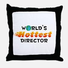 World's Hottest Direc.. (C) Throw Pillow