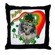 Today I'm Irish Keeshond Throw Pillow