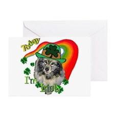 Today I'm Irish Keeshond Greeting Cards (Pk of 10)