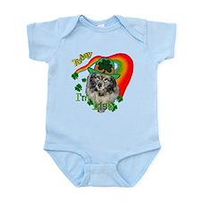 Today I'm Irish Keeshond Infant Bodysuit