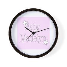 Cute Madelyn Wall Clock
