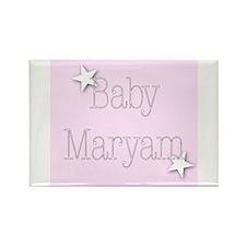 Unique Maryam Rectangle Magnet (10 pack)