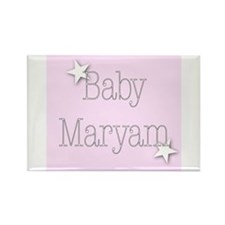 Unique Maryam Rectangle Magnet
