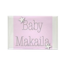 Cute Makaila Rectangle Magnet