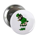 "Mooning Leprechaun 2.25"" Button"