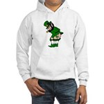 Mooning Leprechaun Hooded Sweatshirt
