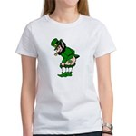 Mooning Leprechaun Women's T-Shirt