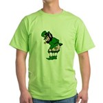 Mooning Leprechaun Green T-Shirt
