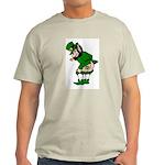 Mooning Leprechaun Light T-Shirt