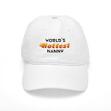 World's Hottest Nanny (B) Baseball Cap