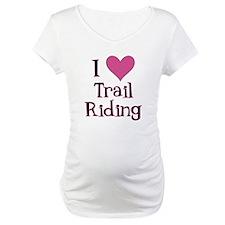 Pink I Heart Trail Riding Shirt