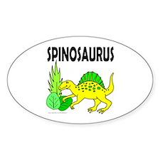 SPINOSAURUS Oval Decal