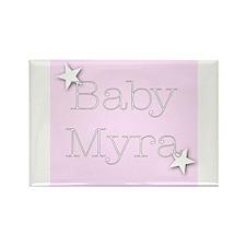 Myra Rectangle Magnet