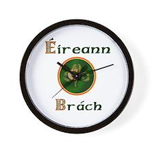 Eireann Go Brach Wall Clock