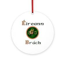 Eireann Go Brach Ornament (Round)