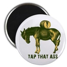 Tap That Ass Donkey Beer Keg Magnet