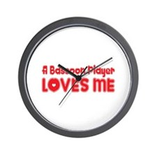 A Bassoon Player Loves Me Wall Clock