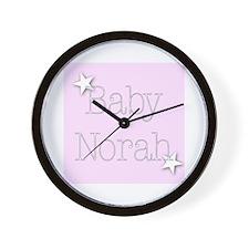 Cute Norah Wall Clock
