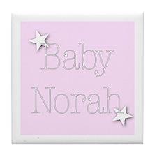 Cute Norah Tile Coaster