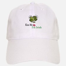 Kiss Me, I'm Irish Baseball Baseball Cap