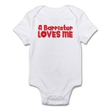 A Barrister Loves Me Onesie