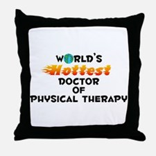 World's Hottest Docto.. (C) Throw Pillow