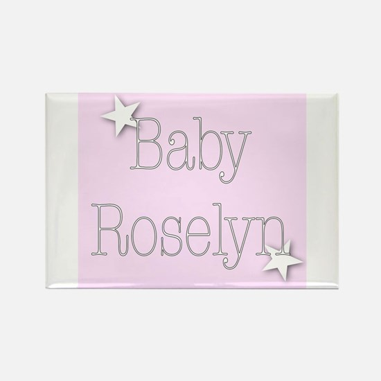 Unique Roselyn Rectangle Magnet