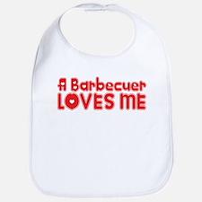 A Barbecuer Loves Me Bib