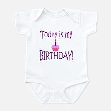 Today Is My Birthday (purple) Infant Bodysuit