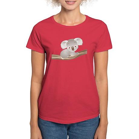 Baby Koala Women's Dark T-Shirt