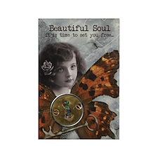 Beautiful Soul Rectangle Magnet