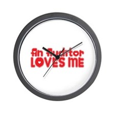 An Auditor Loves Me Wall Clock