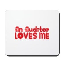 An Auditor Loves Me Mousepad