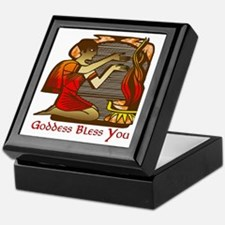Goddess Bless You Keepsake Box