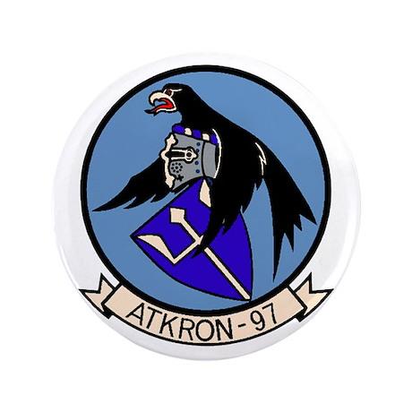 "VA 97 Warhawks 3.5"" Button"