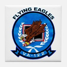VA 122 Flying Eagles Tile Coaster