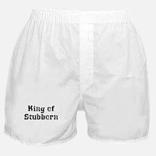 King of Stubborn Boxer Shorts