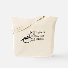 Witch Meddling Tote Bag